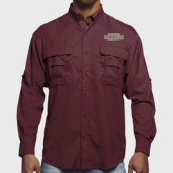 H-1 L/S Raiders Fishing Shirt