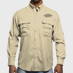H-1 Raiders L/S Fishing Shirt