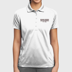 H-1 Mom Dri-Mesh Polo